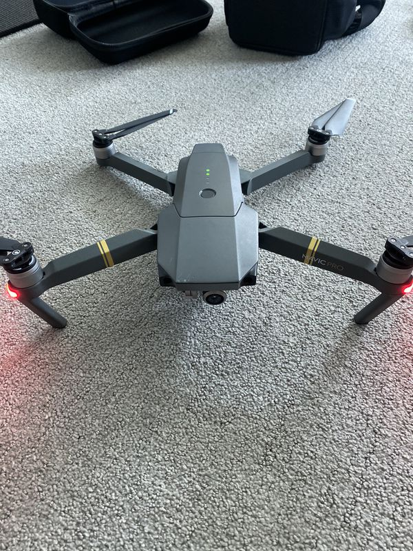 DJI Mavic Pro Drone + Fly More Bundle plus 4 Batteries and travel cases