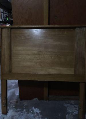 Oak twin bed headboard for Sale for sale  East Brunswick, NJ
