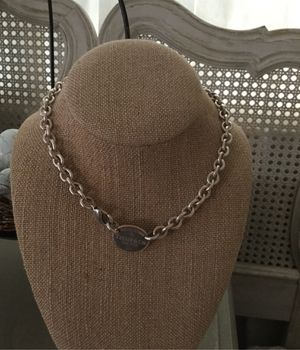 Tiffany necklace ..please return etc.. 15 & 1/2 inches long. for Sale in Del Sur, CA