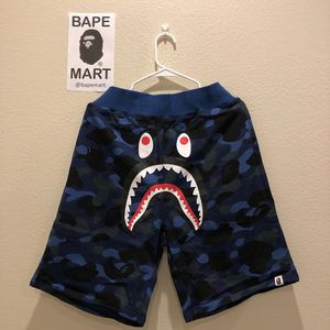 Bape shark shorts camo blue (fits like medium/large) for Sale in Los Angeles, CA