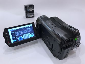 Sony SR 12 120 GB Camcorder - Black for Sale in Bothell,  WA