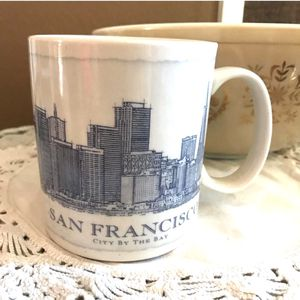 Starbuck City Scapes Blue Print SAN FRANCISCO for Sale in Lake Forest, CA
