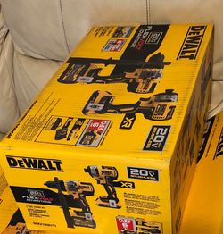 Dewalt Drill Combo 20v FLEXvolt (NEW) for Sale in San Jose,  CA