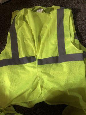 Reflective safety vest for Sale in Avondale, AZ