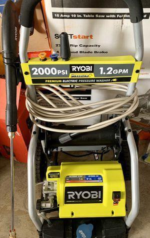RYOBI 2,000 PSI 1.2 GPM Electric Pressure Washer for Sale in Irwindale, CA