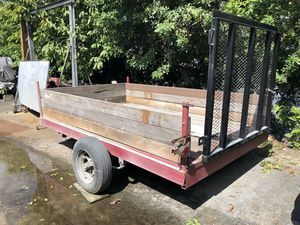 10' Open Trailer , With Ramp for Sale in Fort Lauderdale, FL