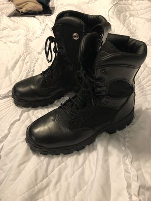 Rocky alpha force boots men's 9W worn once for Sale in Newberry, FL