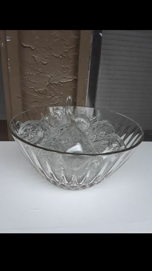 Fruit punch bowl set for Sale in Mesquite, TX