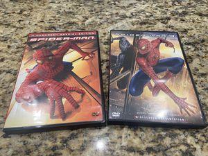 Spider-Man and Spider-Man 3 DVDs for Sale in West Palm Beach, FL
