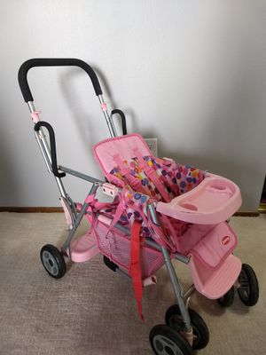 Baby Dolls, Crib & Changing Table, stroller for Sale in Portland, OR