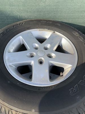 Jeep Wrangler wheels for Sale in Chula Vista, CA