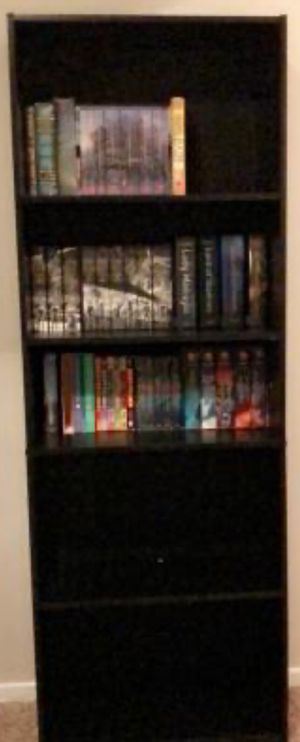 "New!! 5 Shelf Unit,Bookcase,Furniture,71""Bookcase,Storage Organizer-Black for Sale in Phoenix, AZ"