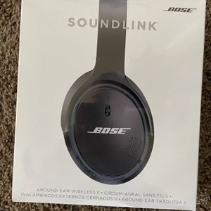 Bose Soundlink II 2 Bluetooth Headphones New Sealed for Sale in Phoenix, AZ