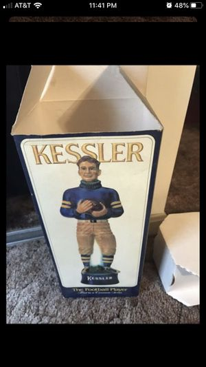 Vintage Kessler football player for Sale in Spring Mill, KY