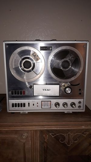 TEAC reel to reel machine with case WORKS perfectly for Sale in Lodi, CA