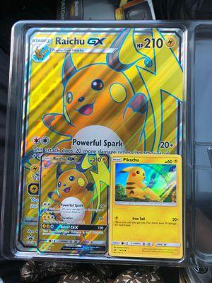 Raichu GX and Regular Pikachu for Sale in Houston, TX