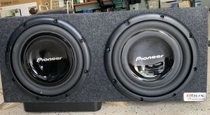 PIONEER SUB & AMP for Sale in Manassas, VA