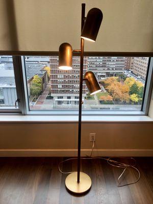 Arteriors brass floor lamp for Sale in Boston, MA