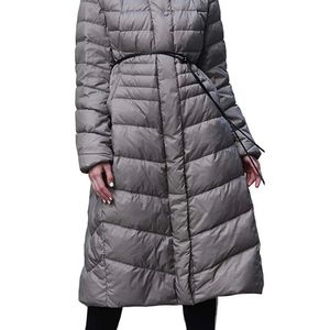Puffer Jacket Women, Packable Women's Down Coat, Long Hooded Thickened Winter Parkas Outwear for Girl (Size Large) for Sale in Katy, TX