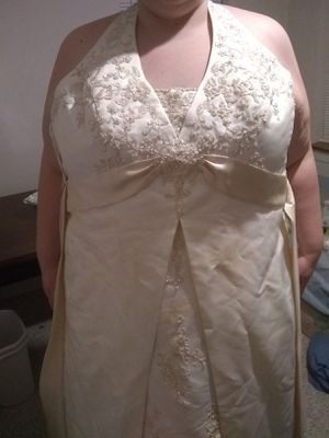 Wedding dress size 26 plus accessories for Sale in WILOUGHBY HLS, OH
