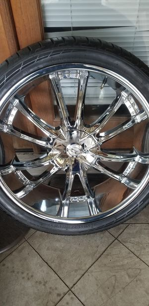 24 inch rims SOLD THANK U .. for Sale in McRae-Helena, GA