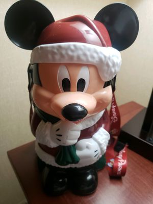 2016 Disney Mickey Santa Popcorn Bucket for Sale in Claremont, CA