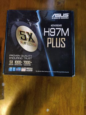 Asus Motherboard H97M Plus for Sale in Los Angeles, CA