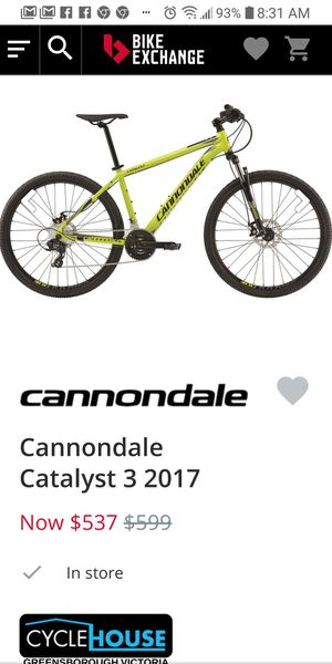 Cannondale catalyst Mountain Bike for Sale in Denver, CO