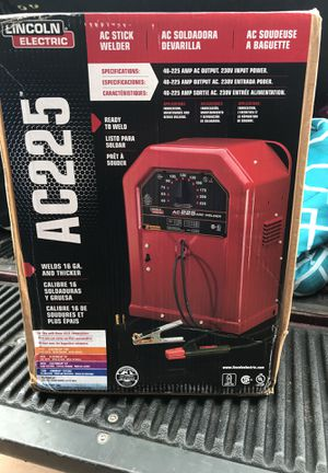 Lincoln electric welder ac225 for Sale in Tarpon Springs, FL