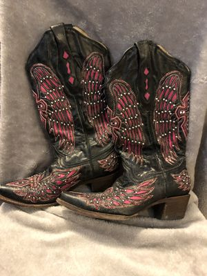 Corral Size 7 B ladies boots for Sale in Midlothian, TX