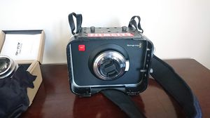 Blackmagic Design Cinema Camera Camcorder With lense + 2 240 GB Memory Cards for Sale in Malden, MA