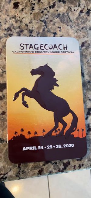 Stagecoach Wristband and Shuttle Pass for Sale in Lynwood, CA