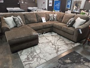 New Sectional Sofa, Teak, SKU# ASH91102LAFTC for Sale in Santa Fe Springs, CA