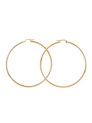 Gabrielle Hoops in Gold for Sale in San Francisco, CA