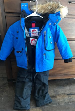 Canada Snow suit with matching jacket size 3T (retails $175) for Sale in Murrieta, CA