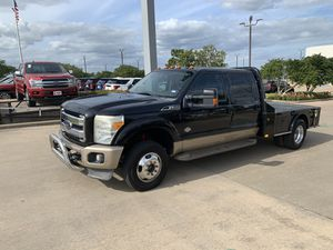 2012 Ford F-350 King Ranch Dually Flatbed for Sale in Brenham, TX