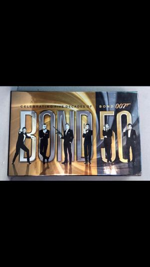 Bond 50 22 blu rays for Sale in San Diego, CA