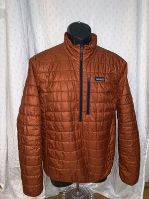 Patagonia S Nano Puff Men's copper jacket for Sale in Portland, OR