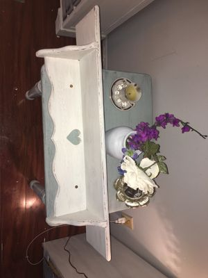 2 shabby chic shelves for Sale in Clearwater, FL
