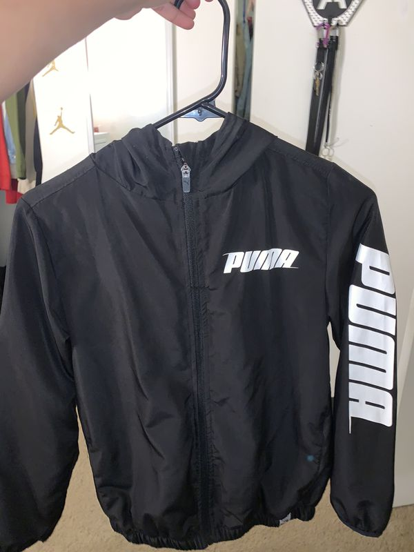 puma Jacket Size Medium ( 10/12) Kids