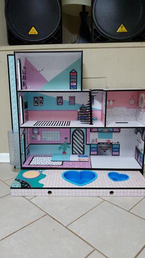 Lol surprise doll house for Sale in MERRIONETT PK, IL
