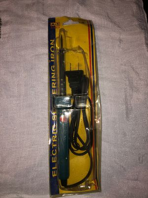Electric soldering iron for Sale in Fontana, CA