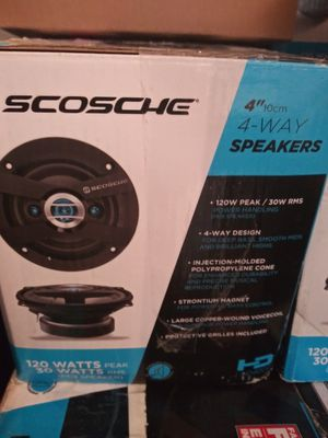 Pair 4 inch speakers for Sale in Tampa, FL