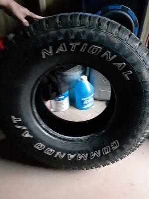 4x 285 75 16 decent trade National Commander all-terrain tires 125 cash must pick up Dawsonville Georgia for Sale in Dawsonville, GA