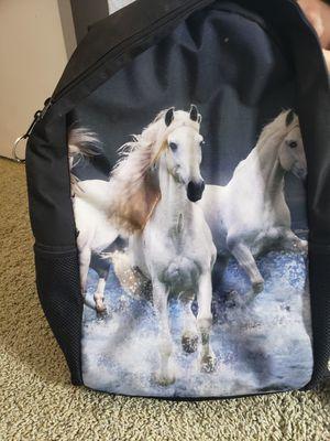 Backpack w/ horse print. for Sale in Corona, CA