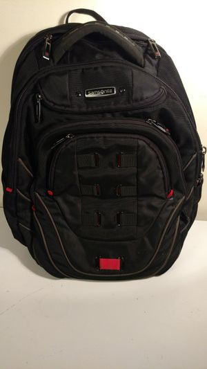 Samsonite black and red technology laptop backpack for Sale in Columbus, OH