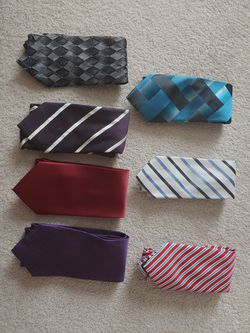 Men's ties Formal suit sport coat dress shirt ties for Sale in Kent,  WA
