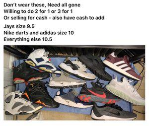 Nike adidas Jordan bundle for Sale in Union City, NJ