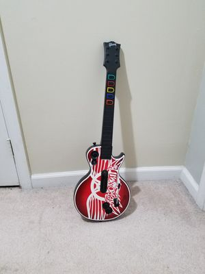 Guitar Hero: Aerosmith Les Paul Guitar for Sale in Fairfax, VA