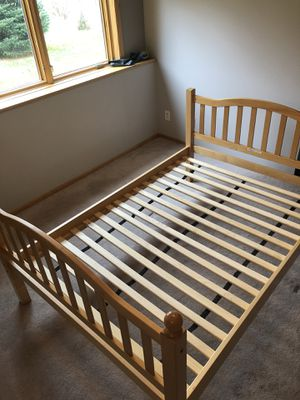 Full size bed frame for Sale in INVER GROVE, MN